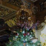 Upheld in Christmas Elegance